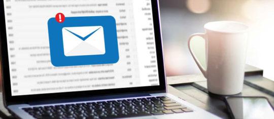 Choisir une boite mail